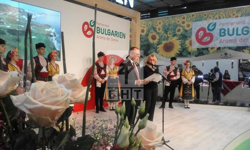снимка 1 България участва в международното изложение за земеделие и храни в Берлин