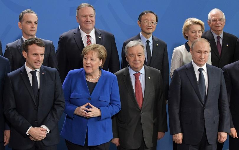 Световните лидери проведоха международна среща в Берлин, след която призоваха