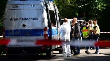 Чеченец разстреля грузински командос в парк в Берлин