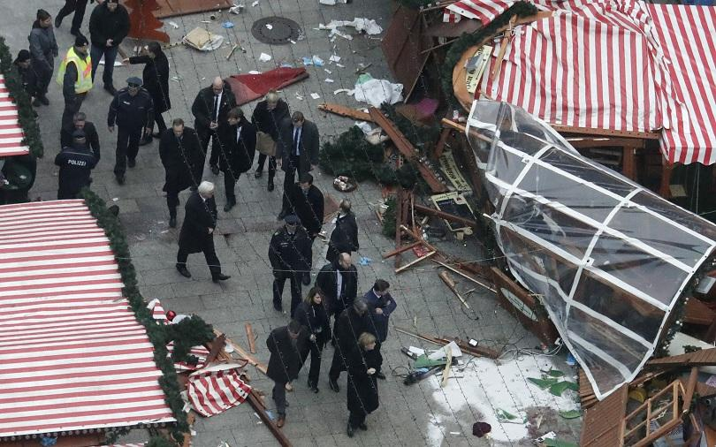 ислямска държава пое отговорност нападението камион берлин