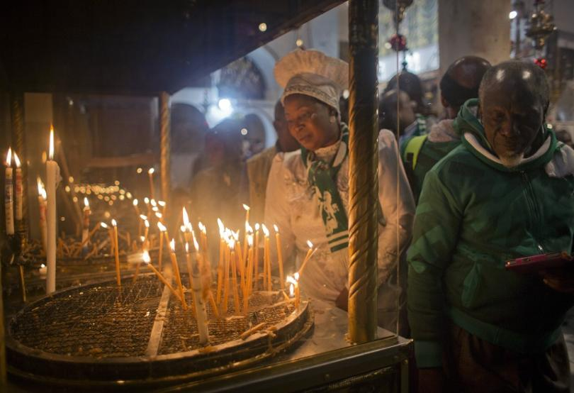 снимка 3 Поклонници от цял свят се стичат във Витлеем, за да посрещнат Рождество Христово