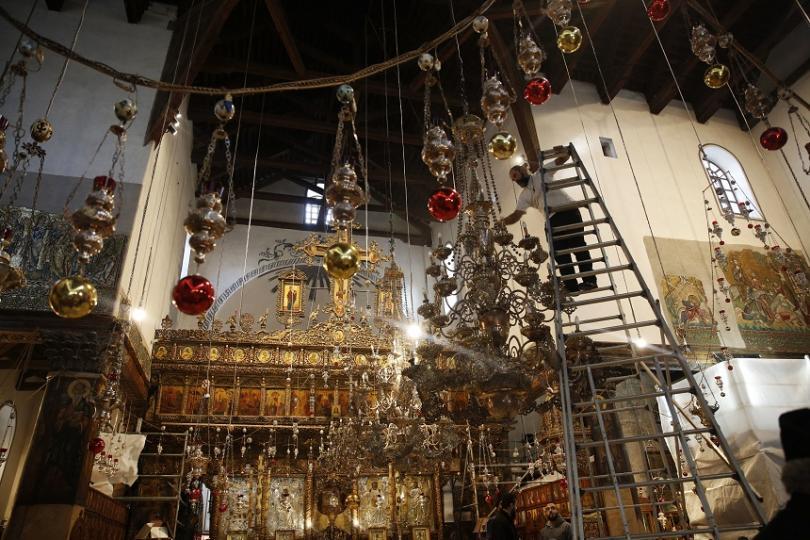 снимка 2 Поклонници от цял свят се стичат във Витлеем, за да посрещнат Рождество Христово