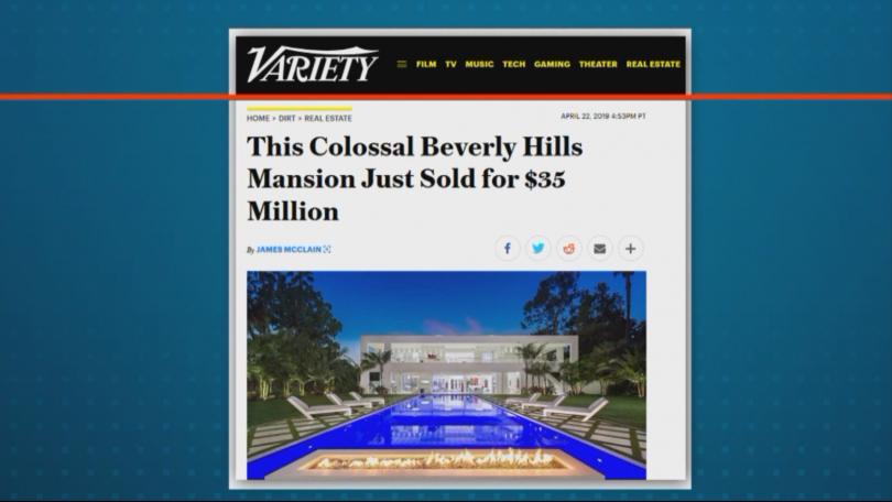 Снимка: Има ли българска следа в най-скъпата продажба на имот в Бевърли Хилс за 2019?