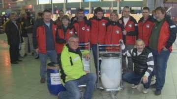 Първата група на 25-тата антарктическа експедиция потегли към ледения континент