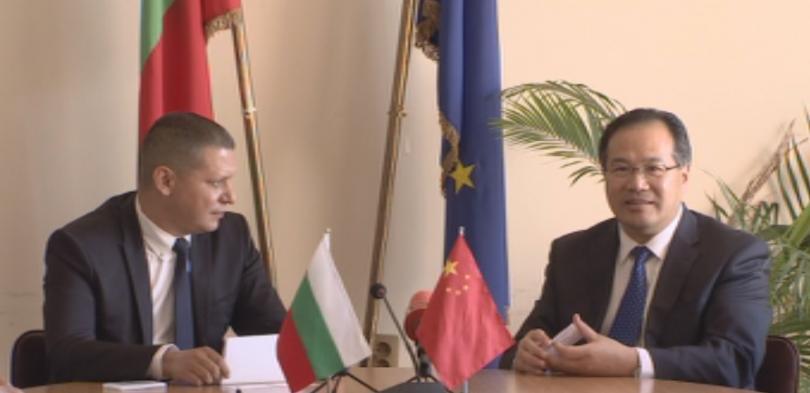Софийска област и китайската провинция Хубей ще си сътрудничат,според меморандум,