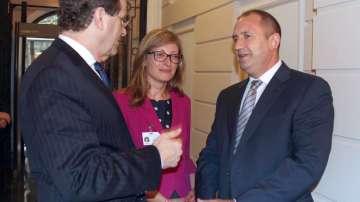 Посещението на президента Румен Радев в Ню Йорк в снимки