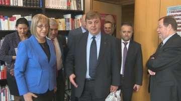 Българската парламентарна делегация в Берлин