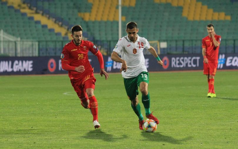 Отборите на България и Черна гора завършиха наравно 1:1 на