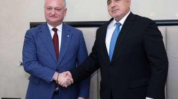 Борисов: Молдова е наш традиционен външноикономически партньор