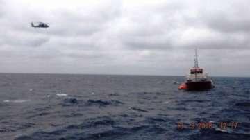 Български моряци са спасили екипаж на потъващ кораб в Мексиканския залив