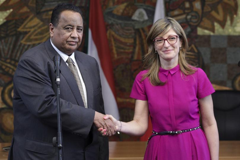 снимка 1 Външният министър на Судан на първа официална визита у нас