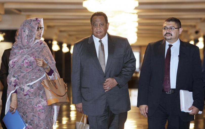 външният министър судан първа официална визита нас