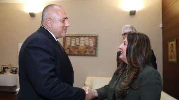 Борисов се срещна с новия посланик на САЩ у нас Херо Мустафа
