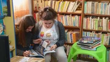 Читалище Светлина в село Труд получи дарение от книги