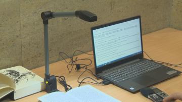 Всички книги в Националната библиотека вече са достъпни за незрящи