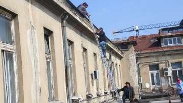 Започва ремонтът на покрива на Националната библиотека