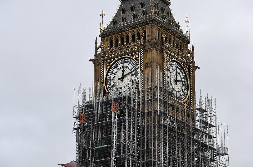 Един от символите на Лондон - часовникът на кулата