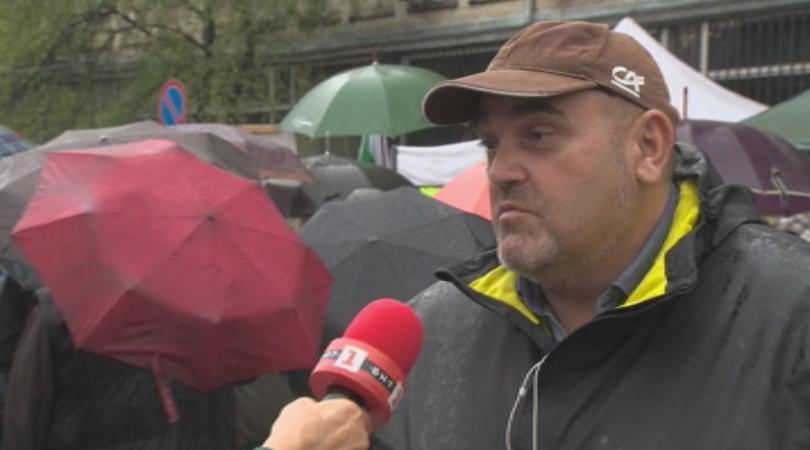 Протест на биопроизводители пред Министерството на земеделието се провежда в