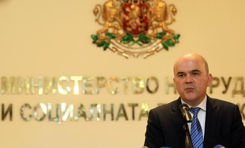 Премиерът Бойко Борисов поиска и прие оставката на министъра на