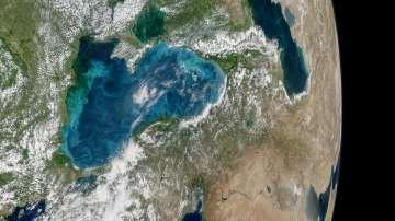 НАСА улови кадри на тюркоазеното Черно море (СНИМКИ)