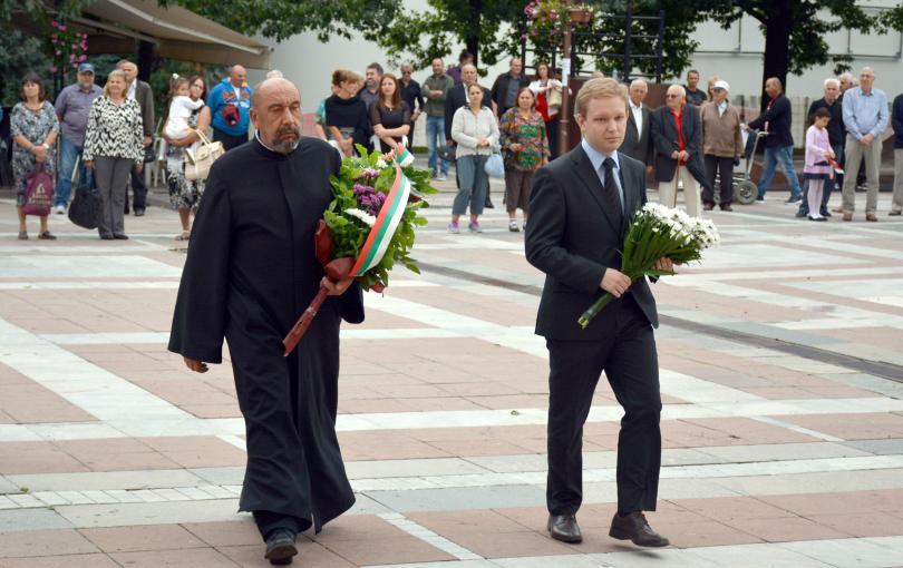 снимка 1 България чества 131-та годишнина от Съединението