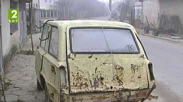 Атрактивна каруца в кюстендилско село