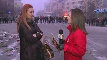 Студенти от Благоевград отново на жива верига в знак на протест
