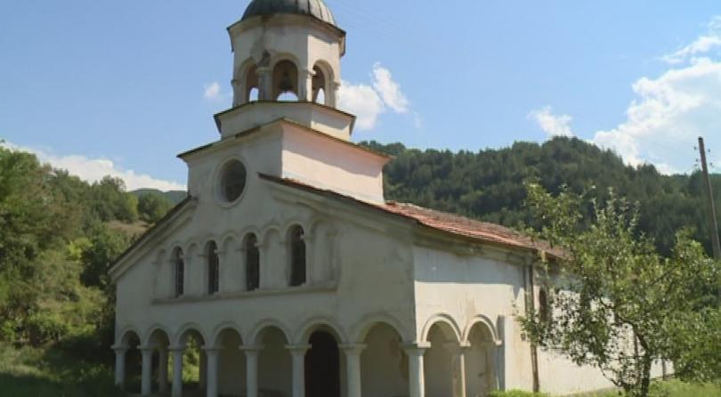 Най-голямата църква в община Благоевград - в село Бистрица, е