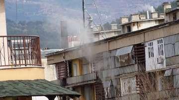 Пожар горя в Благоевград, две деца са вдишвали дим