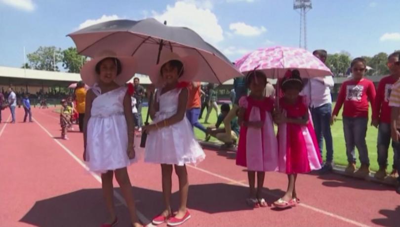 В столицата на Шри Ланка се опитаха да поставят рекорд