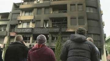 Комисия установява какви са щетите по изгорелия блок в Сандански