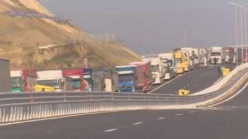 Шести ден двойна блокада на българо-гръцката граница
