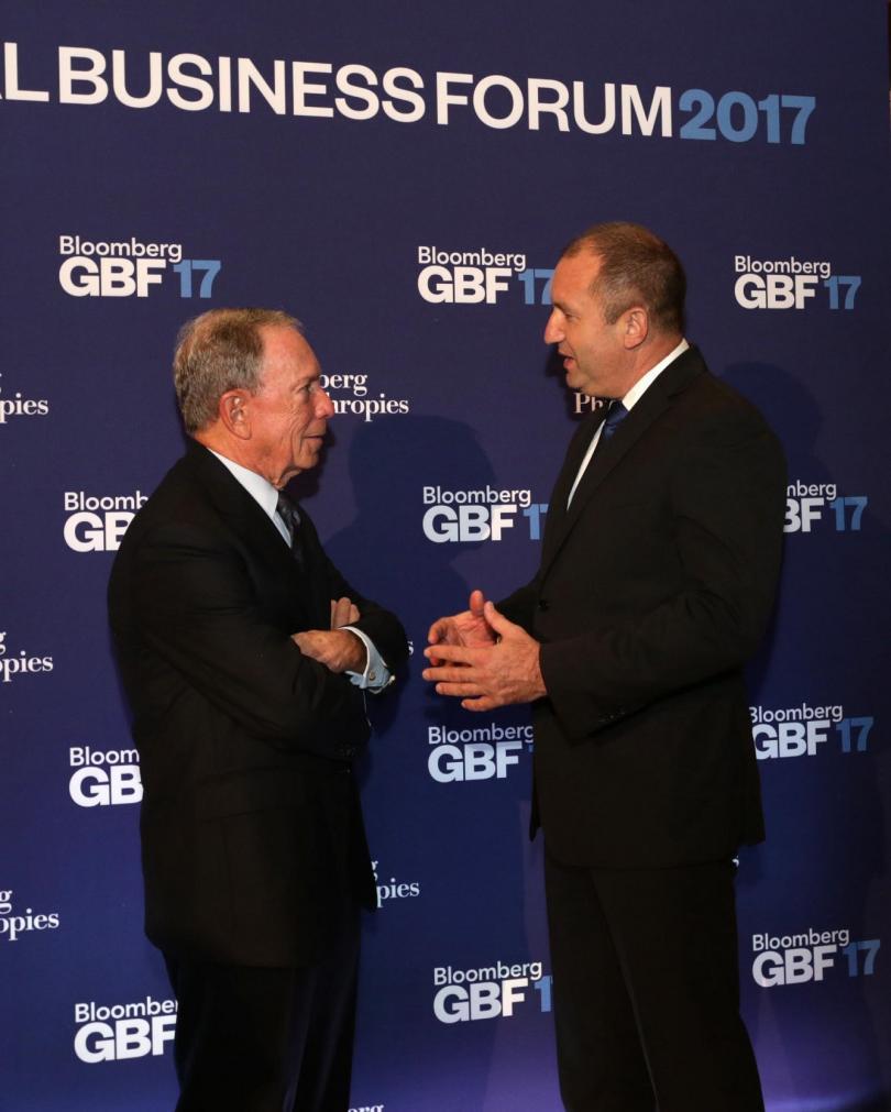 снимка 9 Посещението на президента Румен Радев в Ню Йорк в снимки