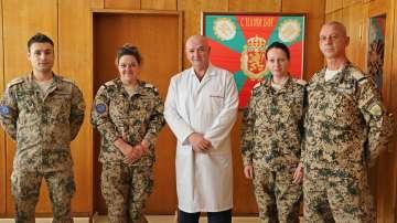Екип на ВМА се завърна след успешна мисия в Мали