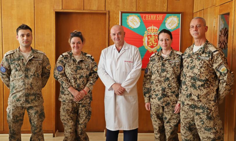 19-ият военномедицински екип се завърна от 4-месечна мисия в Мали