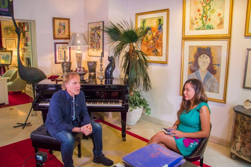 Екип на БНТ засне документален филм за световноизвестния френски пианист