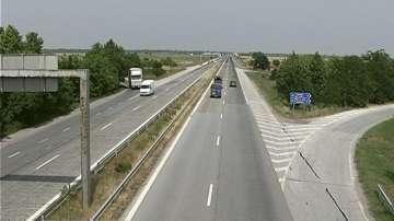Нова маркировка по републиканските пътища в Пловдив