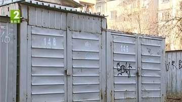 Премахват незаконните гаражи в район Южен в Пловдив