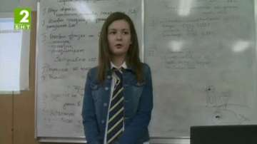 Ученици управляваха Английската гимназия