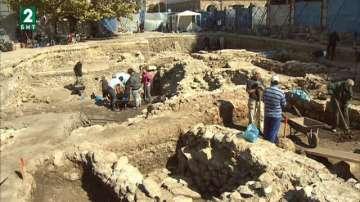 Археолози откриха сграда от римската епоха до църквата Света Неделя