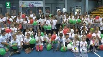 """""""Тенисът – спорт за всички"""" завърши с открита тренировка на Цветана Пиронкова"""
