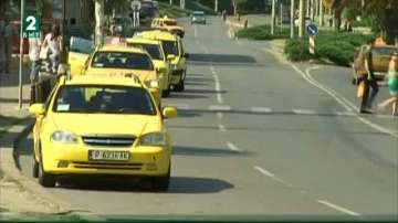 Такситата в Русе ще плащат годишен данък в размер на 500 лева