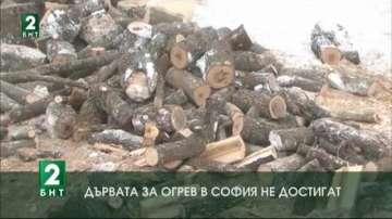 Дървата за огрев в София не достигат