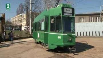 Швейцарски трамваи заменят най-старите мотриси в София от април