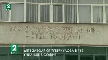 Дете заболя от туберкулоза в 162-ро училище в София