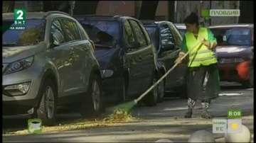 Полицаи обучават хигиенистките в Пловдив за безопасна работа на пътя