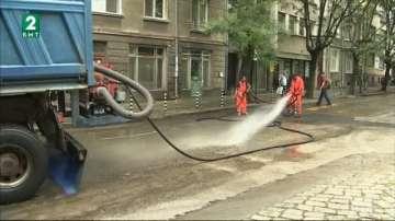Затварят улици в центъра на София заради планово миене