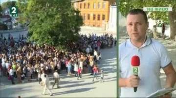 Първият учебен ден във Варна