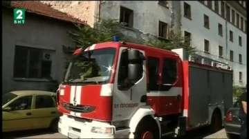 Отново пожар в тютюневия склад на улица Одрин 8