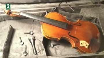 Служители на Летище Пловдив свалиха струните на цигулка на семейство лютиери